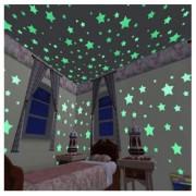 Selvlysende stjerner 100stk