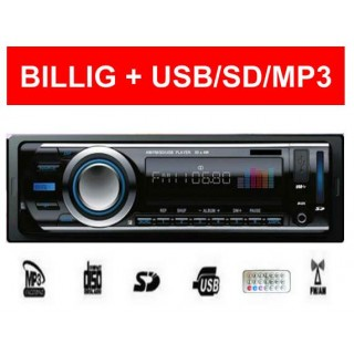Bilradio Mp3 USB  50*4W - smartviking.no