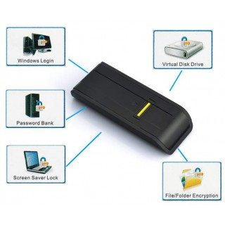 USB 2.0 fingeravtrykksleser for PC - smartviking.no