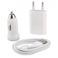 3 in 1 Usb charger for Iphone/Ipad (Bil-Home)