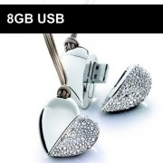 8GB USB-minne Smykke — Hjerte