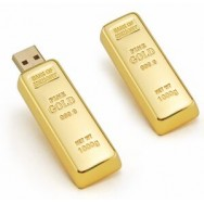 Gold USB minne 64GB