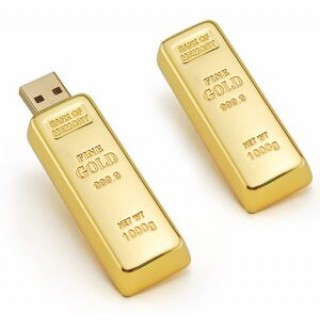 Gold USB minne 64GB - smartviking.no
