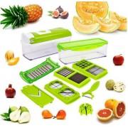 Grønnsakskutter med oppsamlingsboks