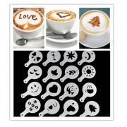 Kaffe Latte dekorsett
