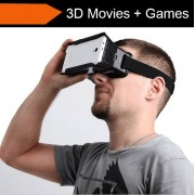 VR 3D Briller for mobiltelefon