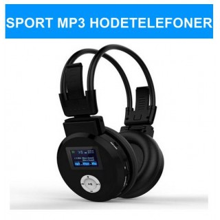 Sport Mp3 trådløs Hodetelefoner - smartviking.no