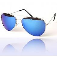 Speilede Aviator solbriller