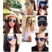 Speilede Aviator solbriller - smartviking.no
