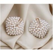 Perle Øredobbene