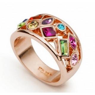 18K white Gold Plated Ring - smartviking.no