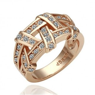 Rose Gold Plated Ring - smartviking.no