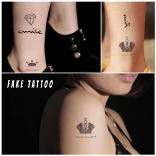 Fake Tattoo 6stk - smartviking.no