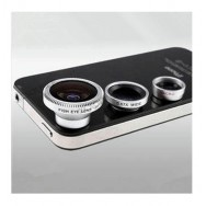 Fisheye - Vidvinkel – Macro Objektiv til iPhone 4/5s
