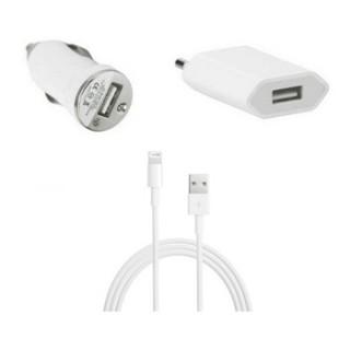 3 i 1 pakke Ladesett til iPhone 5s - smartviking.no