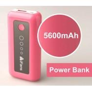 Nødbatteri 5600 mAh powerbank / batteribank