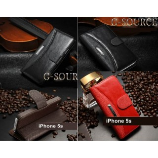 Luksus Lommebok Deksel for iPhone 5 – 5S - smartviking.no